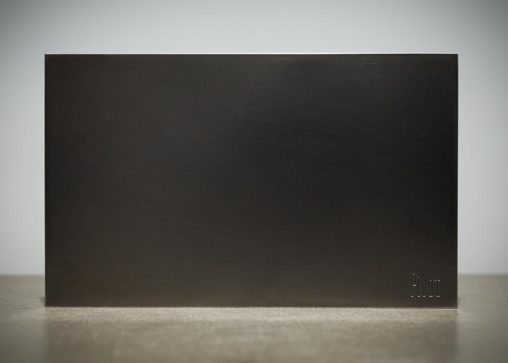 Pivot – blackened steel